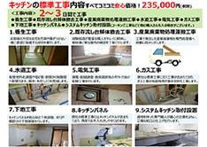 キッチンリフォーム工事金額