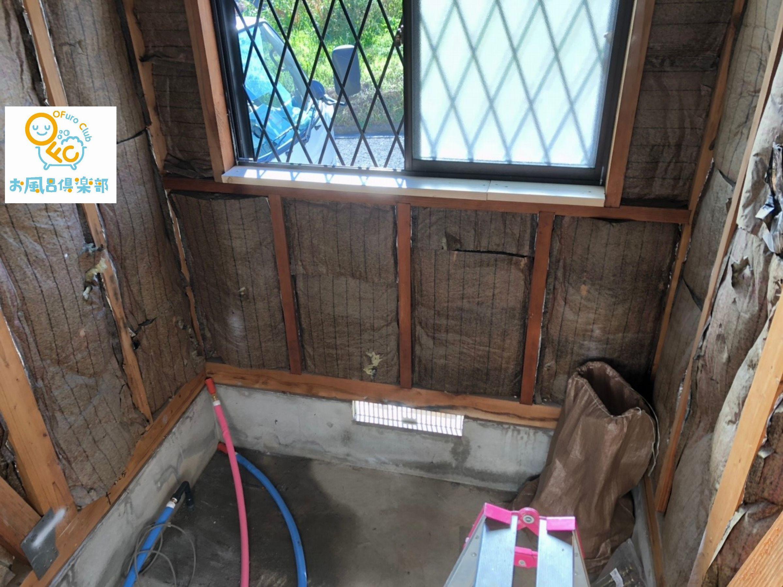 和泉市S様邸 浴室・洗面台リフォーム 施工Before写真